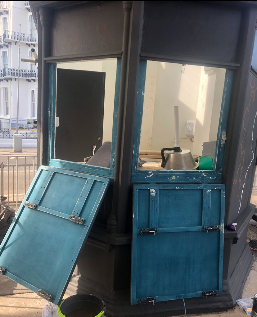 Rio Vitalise Smoothie Kiosk refurbishment